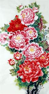 Chinese Painting: Peony - Chinese Painting CNAG233464 ...