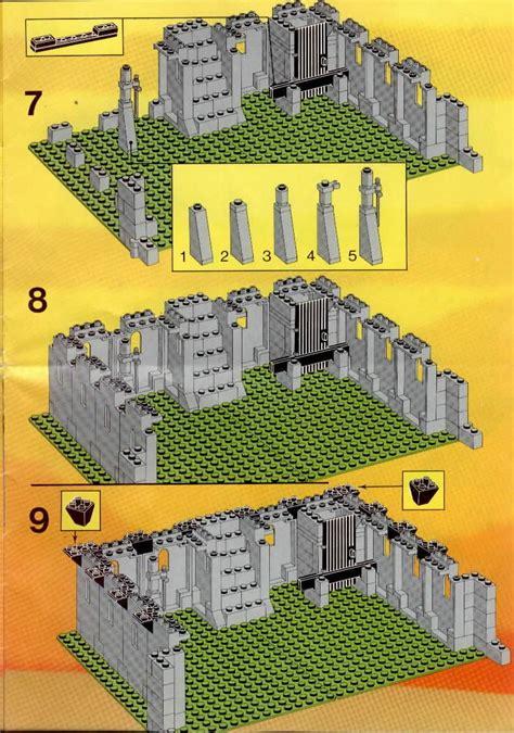 instructions    kings castle bricksargzcom