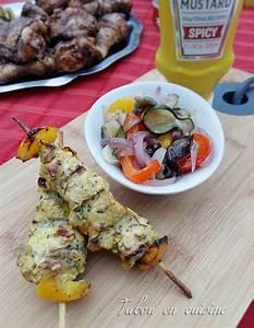 Que Faire Au Barbecue Pour Changer : brochettes de poulet citron curry au barbecue tabou en ~ Carolinahurricanesstore.com Idées de Décoration