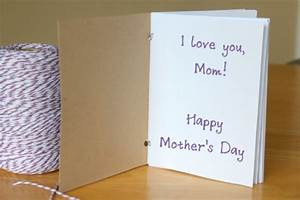 Handmade Journal From a Card for Mother's Day | Make and Takes