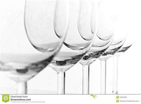 bicchieri ristorante coppie dei bicchieri di vuoti immagine stock