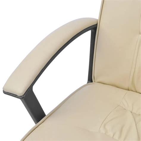 chaise de bureau en solde acheter vidaxl chaise de bureau en cuir artificiel 67x70