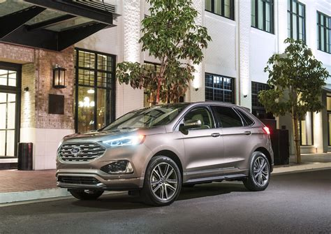 First Drive 2019 Ford Edge Thedetroitbureaucom