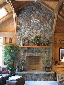 Home, And, Garden, Stone, Fireplace, Designs, And, Decorating, Ideas
