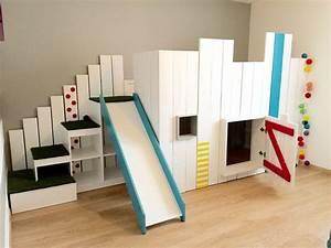 Lit Toboggan Ikea : le lit kura de chez ikea en version lit cabane detourn ~ Premium-room.com Idées de Décoration