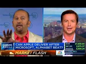 Amish Shah Discusses Apple Q3 2015 Projections on CNBC's ...