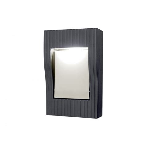 Lutec Rom Wall Light, Wall Mounted Lighting, For Glare