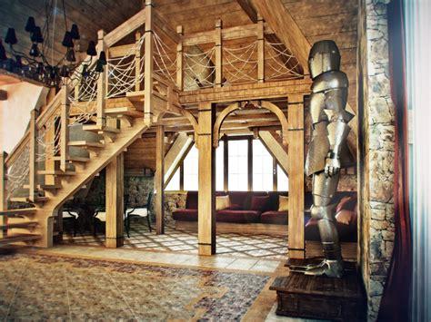 Castle Themed Interiors  Vertical Home Garden