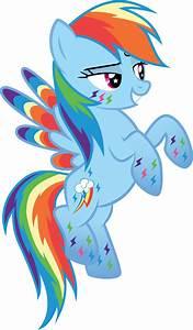 My Little Pony Friendship Is Magic Alicorn Rainbow Dash ...