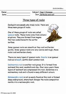 Three types of rocks | PrimaryLeap.co.uk