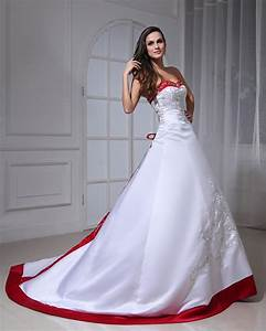 satin embroidery two tone bridal gown wedding dress my With two tone wedding dress