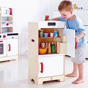 Kühlschrank Mit Gefrierfach : hape k hlschrank mit gefrierfach aus holz e3153 pirum ~ Frokenaadalensverden.com Haus und Dekorationen