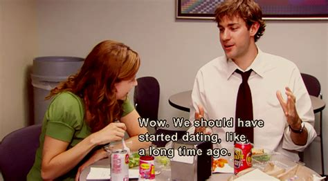 Love Sharing Their Dwight/angela Secret And Jim Concluding
