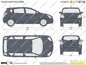 Toyota Verso Dimensions : toyota corolla interior dimensions ~ Medecine-chirurgie-esthetiques.com Avis de Voitures