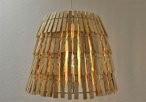 Deckenlampe Selber Machen : lampe aus w scheklammern selber machen ich designer ~ Markanthonyermac.com Haus und Dekorationen