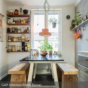 Stauraum Kleine Küche : kleine k che optimal nutzen haus garten pinterest stauraum schaffen vertikal und die zwei ~ Markanthonyermac.com Haus und Dekorationen