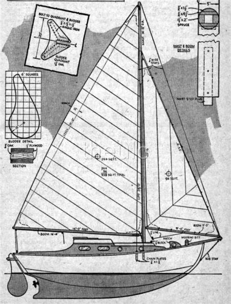 sail boat plans sailing yacht catamaran   woodworking patterns wood pram ebay