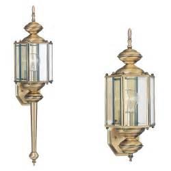 8510 01one light outdoor wall lanternantique brass With brass outdoor lighting parts