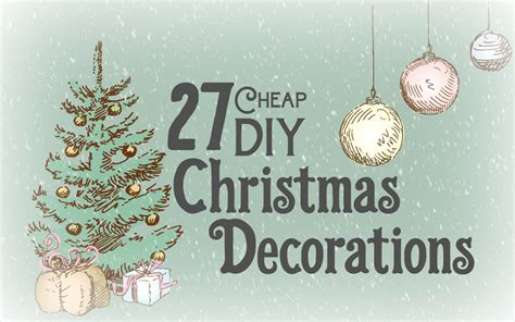cheap diy christmas decorations mobile home living