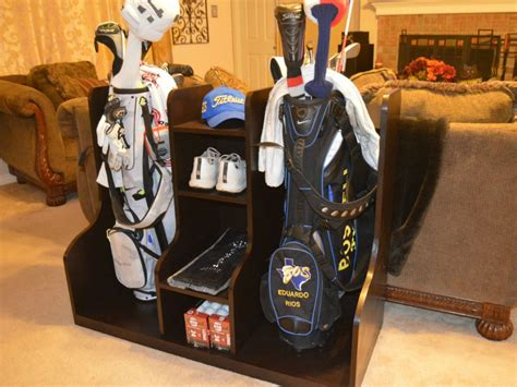 How To Build A Golf Bag Organizer  Wilker Do's