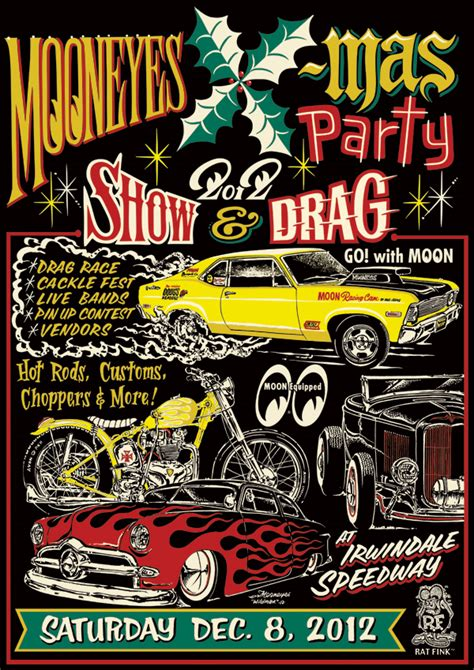 mooneyes christmas sat dec 8 david mann dec 9th
