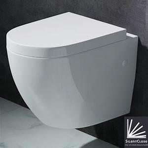 Hänge Wc Höhe : edle design toilette h nge wc mit silent close sitz neu markenartikel aachen376 ~ Markanthonyermac.com Haus und Dekorationen