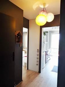 Couleur Peinture Couloir : couleur peinture couloir entree photos inspirations et couleur peinture couloir entr e des ~ Mglfilm.com Idées de Décoration