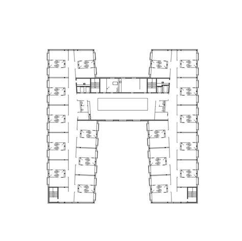 harmonious retirement home floor plans gallery of retirement home meier associ 233 s architectes 19