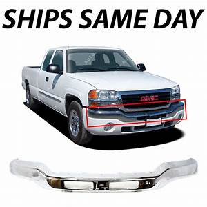 New Chrome Front Bumper Face Bar For 2003