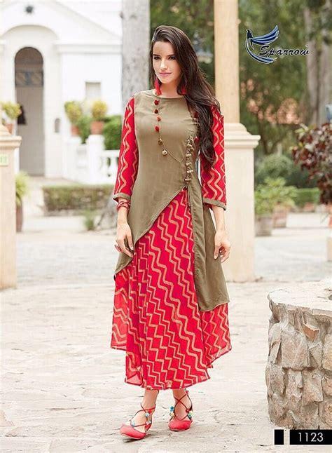 latest indo western style kurti designs kurti blouse