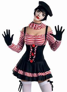 Sexy Womens French Mime Artist Halloween Costume | eBay