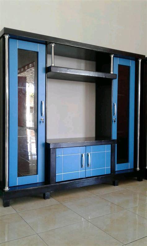 model lemari tv minimalis desain modern harga