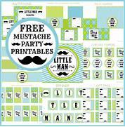 FREE Little Man Mustac...