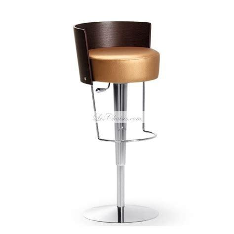 chaise de bar reglable tabouret de bar réglable en cuir bongo et tabourets bar