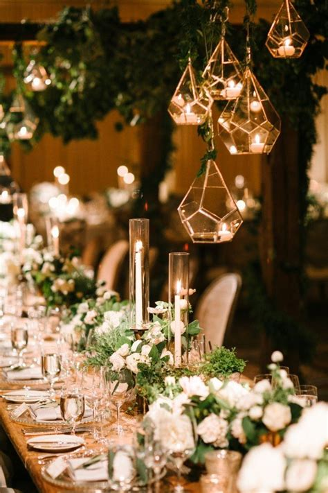 brilliant wedding table decoration ideas   day