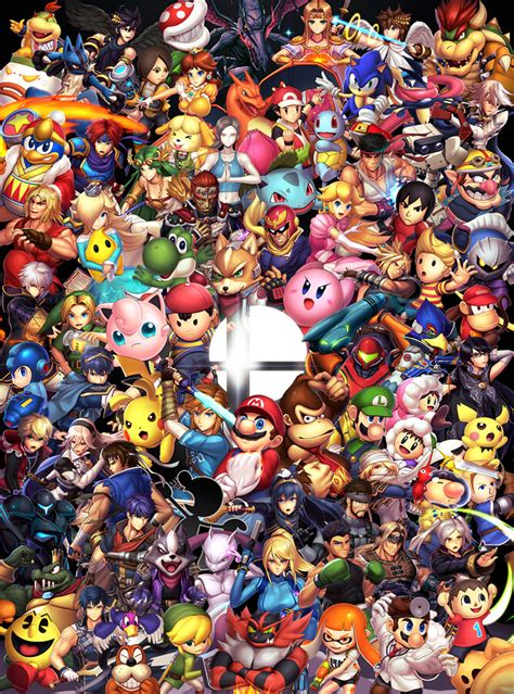 Artstation Super Smash Bros Ultimate Nick Savino