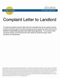 complaint letter to landlord template choice image With complaint letter to landlord template