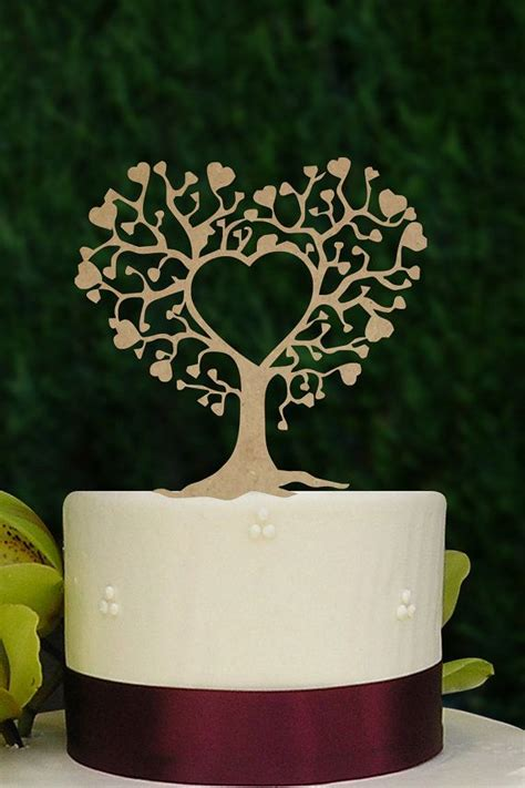 rustic wedding cake topper silhouette couple
