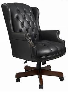Boss Wingback Traditional Office Chair
