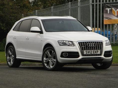 Audi Q5 For Sale by Used White Audi Q5 2012 Diesel 2 0 Tdi Quattro S 4x4 In