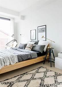 chambre deco scandinave chambre scandinave tendance dco With tapis yoga avec canapé design nordique