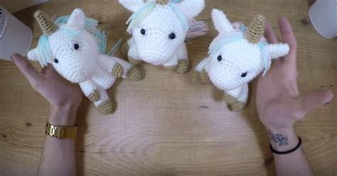 astuces cuisine facile comment des bébés licornes amigurumi au crochet