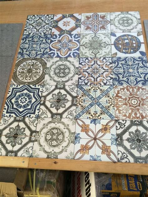 shabby chic wall tiles moroccan style vintage shabby chic topps nikea wall floor tile home vintage and vintage
