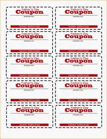 11 free coupon template letter template word