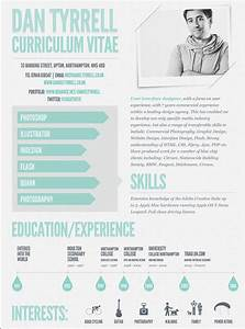 17 best images about visual cv on pinterest infographic With cool resume