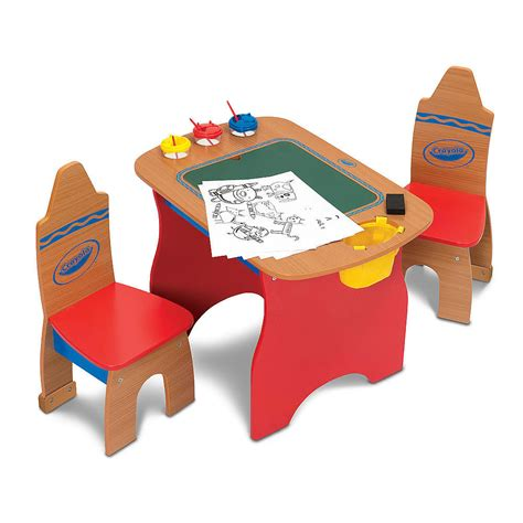 crayola wooden table and chairs set crayola wooden table and chair set decor ideasdecor ideas