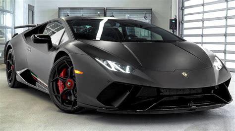 Nero Nemesis (matte Black) Lamborghini Huracan Performante