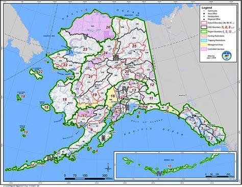 alaska gmu maps alaska department  fish  game