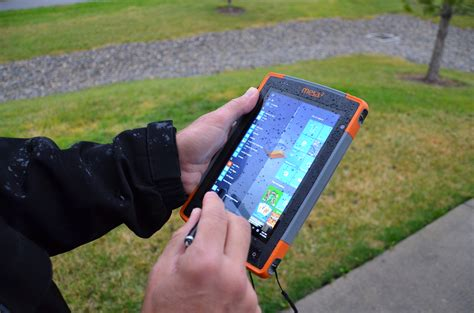 Mesa 2 Touch Screen Profiles Optimize Use In Rain & Wet