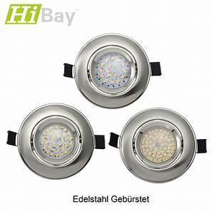 Led Spot 230v : led einbaustrahler set spot 3w 4w 5w 230v strahler gu10 fassung decken lampe ebay ~ Watch28wear.com Haus und Dekorationen
